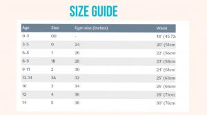 size guide for crop-tops